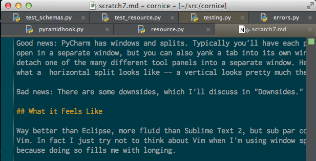 One Year Later: An Epic Review of PyCharm 2 7 from a Vim User's