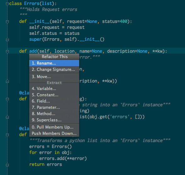 An Epic Review of PyCharm 3 from a Vim User's Perspective – Andrew